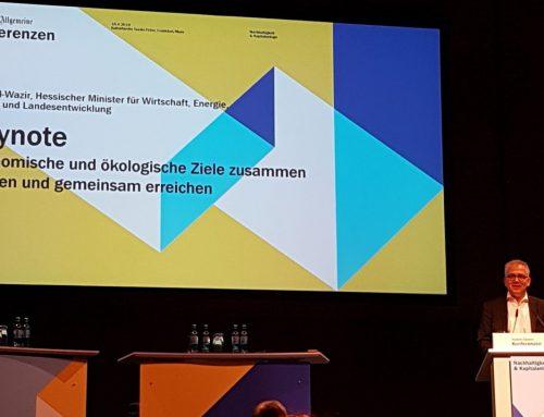 """Die Probleme der Finanzbranche mit Sustainable Finance. Impressionen der Tagung """"Kapitalanlage und Nachhaltigkeit"""" FAZ-Mediengruppe am 18. April in Frankfurt"""