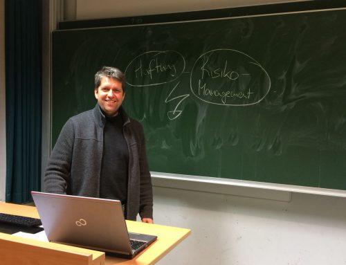 Vortrag – Haftung und Co: Gründer meets Finanzbranche